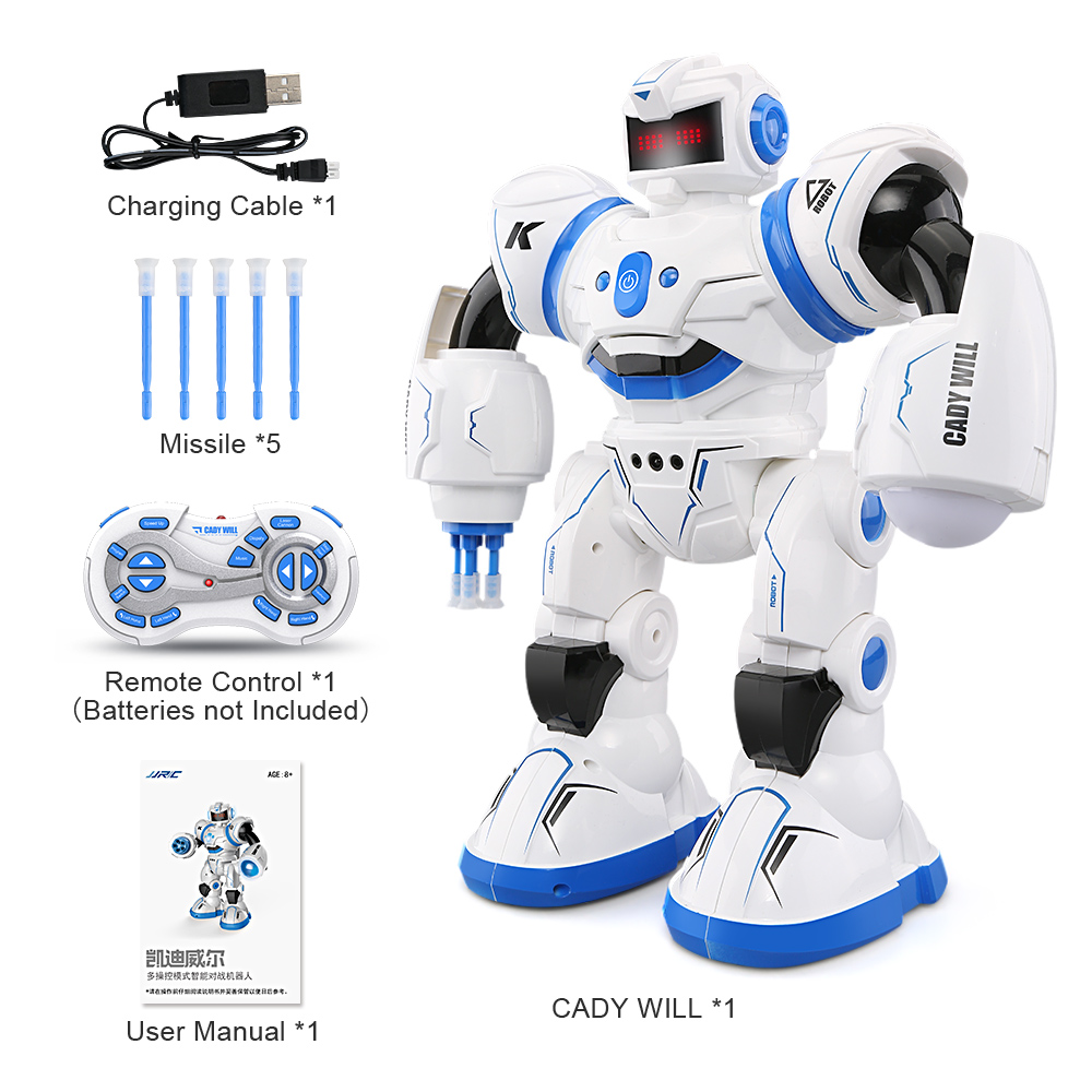 JJRC R3 RC Robot Toys Intelligent Programming Dancing Gesture Sensor Control for Children Kids  F22483-F22483