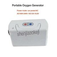Gerador de Oxigênio portátil Com Bateria Carregador de Carro 3L Domésticos Ao Ar Livre Pequeno velho tomada de oxigênio máquina Purificador de Ar Para Casa