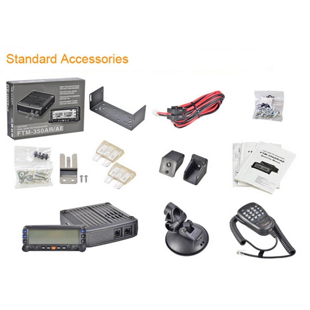 Купить с кэшбэком General YAESU FTM-350R Mobile Radio Transceiver UHF/VHF Dual Band Car Radio Station Professional Station FTM 350R Vehicle Radio