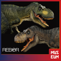 REBOR 1/35 Paläontologie Tyrannosaurus Rex T-Rex Mörder Königin Dinosaurier Modell Tier Decor Spielzeug