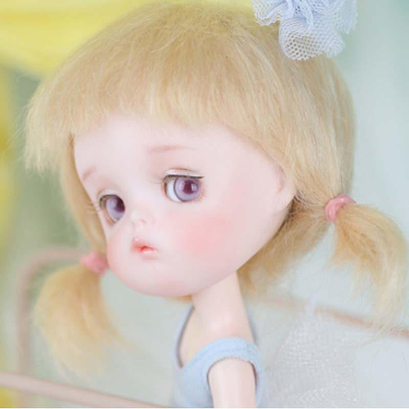 1/8 BJD Doll BJD/SD Cute LOVELY Mong Doll With Free Eyes For Baby Girl Gift