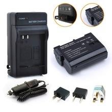 Probty EN-EL15 en EL15 Батарея + Зарядное устройство Комплект для Nikon 1 V1 D600 D610 D750 D800 D810A D810 D800E D7000 D7100 D7200 Камера
