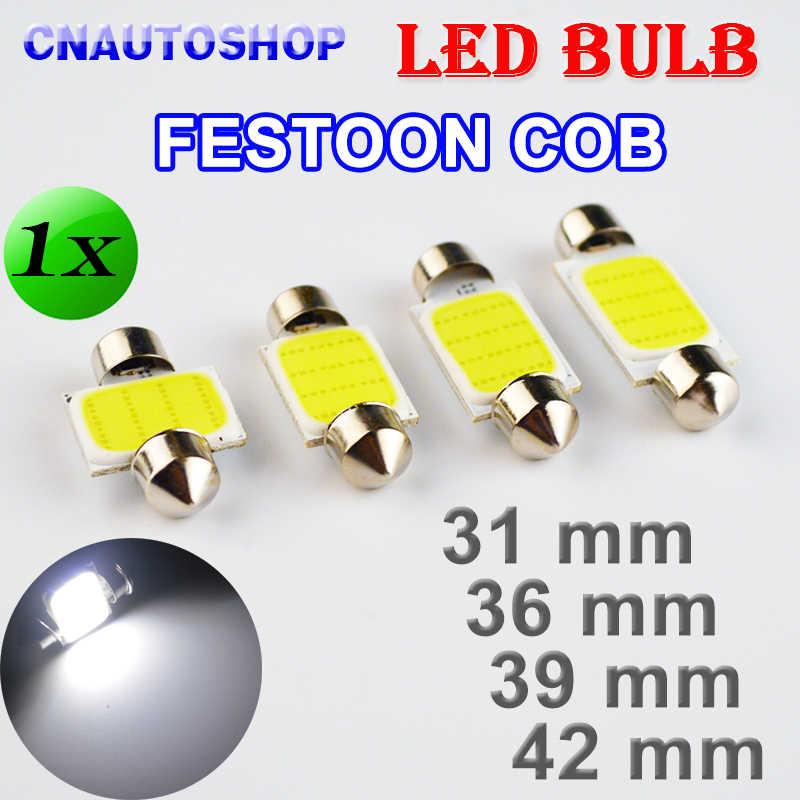 """Flytop 31 מ""""מ 36 מ""""מ 39 מ""""מ 42 מ""""מ COB לויה רכב הנורה 12 שבבי C5W 12 v לבן צבע LED הנורה כיפת אור"""