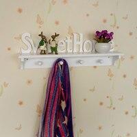 1 PCS Originality Personalized Lovely Towel Hook Hanging Hook Density Board Coat Hat Holder Cute Cloud Wall Door Kitchen