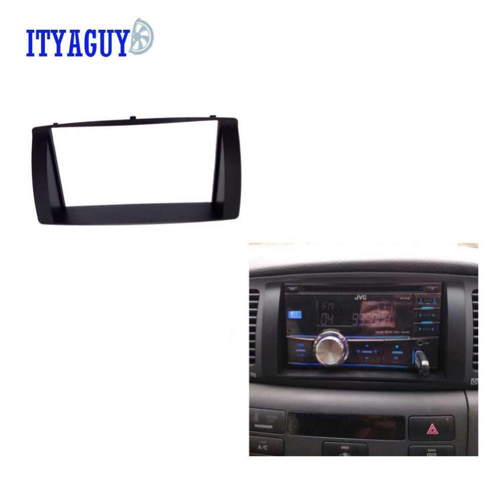 173MM x 98MM מכונית שיפוץ מסגרת פנל Fascia מקף רדיו מסגרת אודיו מסגרת לbyd F3 2008 -2013 2DIN פלסטיק באיכות גבוהה