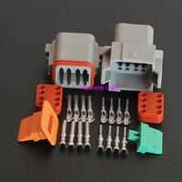 1 zestawów-8 Pin Motoryzacja Wodoodporna Elektryczny Przewodu Wtyk DT04-8p i DT06-8S