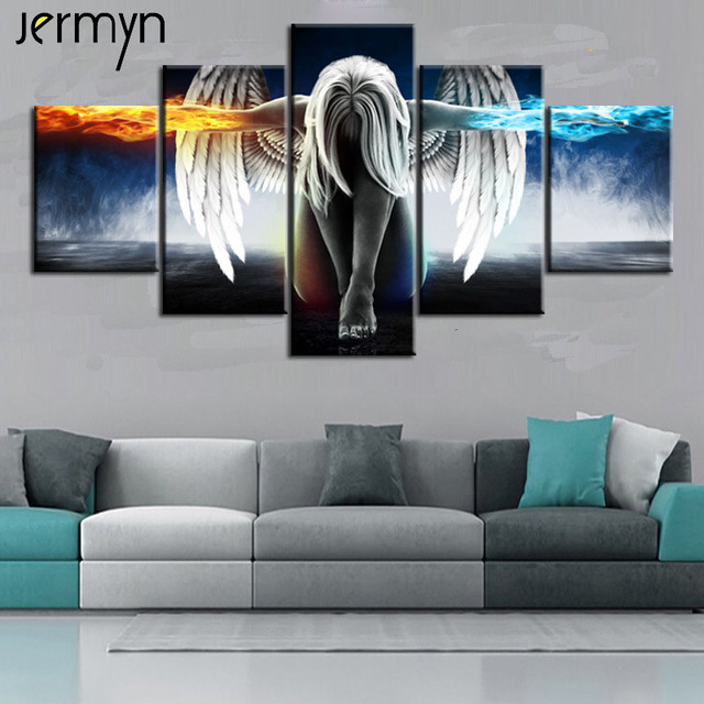 Aliexpress Com Buy Jermyn Piece Canvas Art Print Fallen