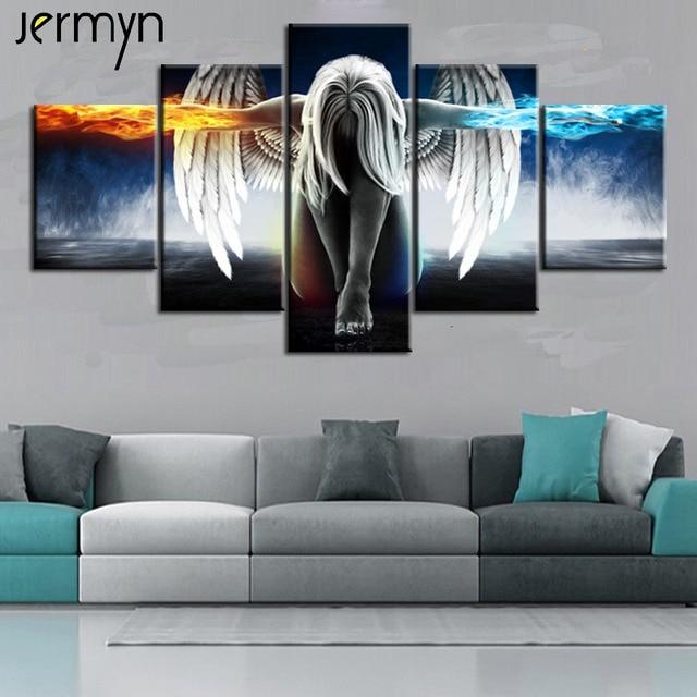 Aliexpress Com Buy Jermyn Piece Canvas Art Print Fallen