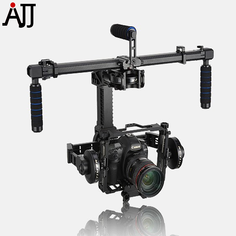Condor Stabilizer Camera Brushless Gimbal 3-Axis RED BMCC 5D3 et with AlexMos SimpleBGC 32-bit Controller 2 axis bgc 2 2 mos 3 1 large current brushless gimbal controller board driver alexmos simple simplebgc two axis