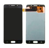 100% Оригинальные a5 (2016) ЖК дисплей дисплей с преобразователь в сборке для Samsung A5 A510F ЖК дисплей сенсорных экранов Замена ipartsbuy