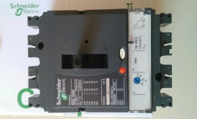 Schneider Molded Case Circuit Breaker Switch NSX100N3P 63A MT63D katalog breaker schneider