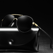 Men's Sunglasses Brand Designer Pilot Polarized Male Sun Glasses Eyeglasses gafas oculos de sol masculino For Men цена