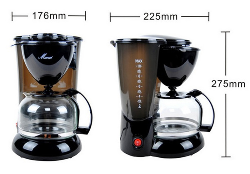 CM1005-3,free shipping,American household fully-automatic drip coffee machine,tea machine,thermal coffee pot,machine insulation free shipping drip coffee pot of machine coffee makers coffee machine