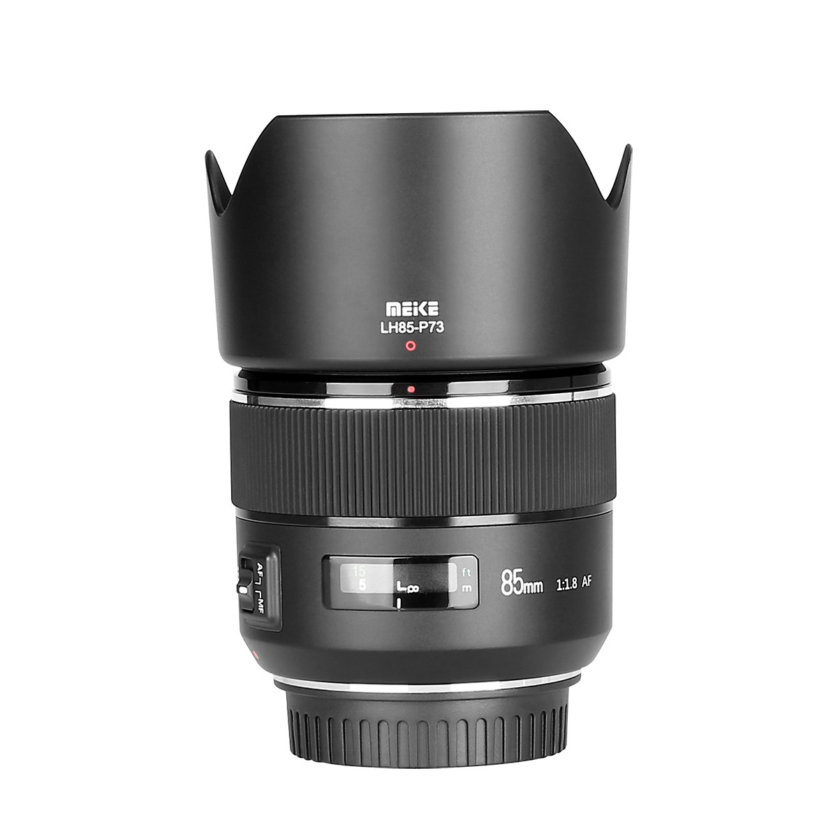 Meike 85mm F/1.8 Auto Focus Full Frame Aspherical Medium Telephoto Portrait Prime Lens for Canon EOS EF Mount DSLR Cameras image