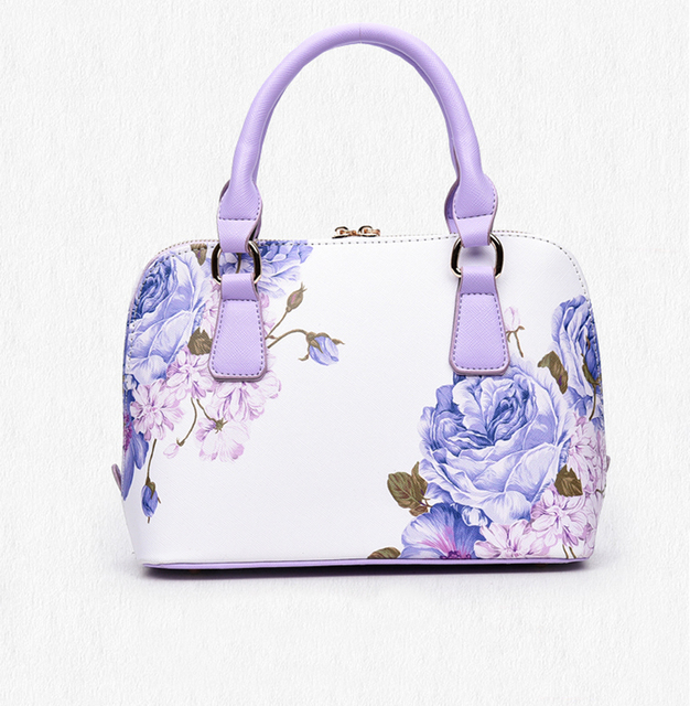 Женщины Классический цепи tote сумки печати цветочные оболочки мешок feminina известный дизайнерский бренд сумки на ремне кожаные сумки