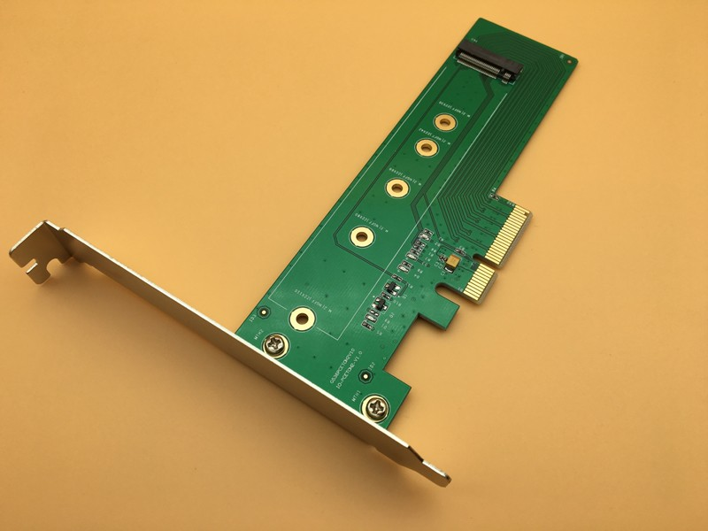 M.2 NVMe SSD NGFF to PCIE X4 Adapter Convert Card M Key Interface Hard Drive SSD Expansion Card Converter