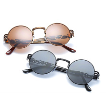 Dropshipping Retro Round Metal Glasses Lens Goggle Eyewear Frame Women Fashion Drive Goggles