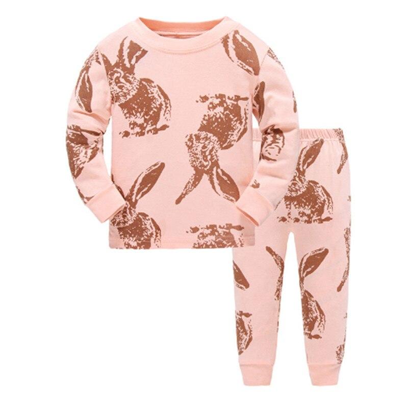 LUCKYGOOBO bambini pigiama imposta ragazzi Cartoon pigiami dei bambini del cotone Casuale Famiglia pigiameria per bambini pigiami delle ragazze pigiama carino