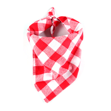 Cotton Scarf Red  Triangular Bandage Collar For Small Medium Large Dogs