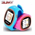 Originais s866 zapax crianças cintura bluetooth smart watch sos lbs gps wi-fi smartwatch à prova d' água relógio para ios android em estoque