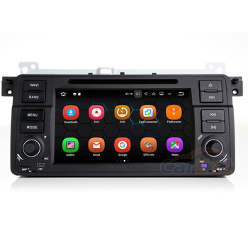 2G RAM Android 9.0 OS Car Multimedia Stereo Player For BMW E46 M3 Old 3 Series AutoRadio DVD With GPS Navigation WiFi Head Unit image