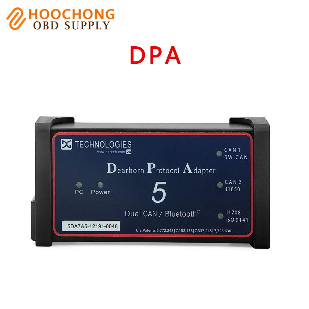 Dearborn Portocol Adapter 5 Heavy Duty Truck Scanner DPA 5 USB Link Without Bluetooth as NEXIQ Truck DPA 5 DPA5