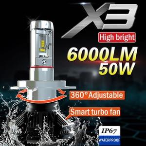 Xplus X3 high/low beam H4 H7/1