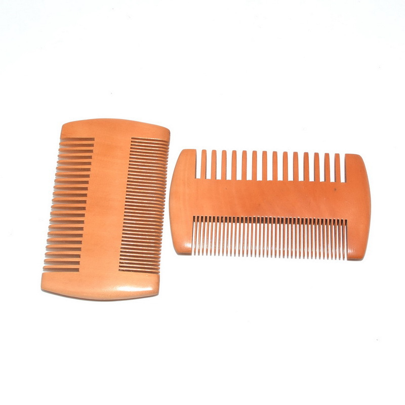 Beard Comb  for Men Great Head Hair Eco friendly Wooden Mustache wood