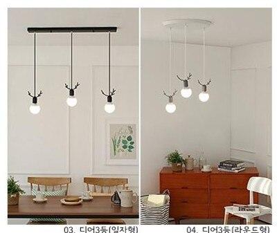 Скандинавская креативная Люстра для ресторана  лампы для детской комнаты  спальни  гостиной  оленьи рога  подвесные светильники LO7242 title=