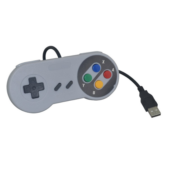 Wired Game Controller USB Gamepad USB SNES Controller for PC Game