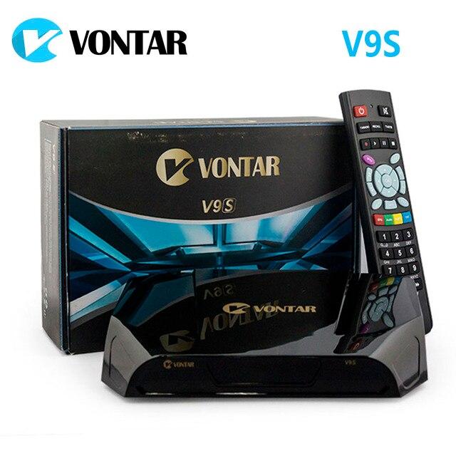 VONTAR V9S DVB-S2 HD Satellite Receiver Wifi Build in Support CS Stalker Xtream M3U Spain Portugal TP list OTA Set Top Box