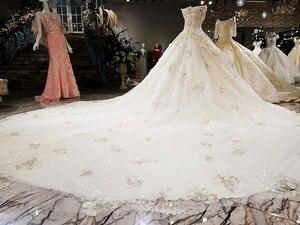 Image 5 - AIJINGYU Formali Da Sposa Abito Da Sposa Con Maniche abito di Sfera Indonesia 2021 Cinese Nuovo Vestito Da Cerimonia Nuziale