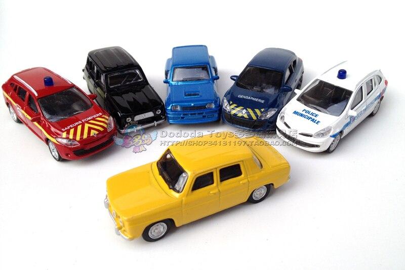 1:6 four alloy automobile mannequin NOREV RENAULT automobile RENAULT automobile automobile quantity