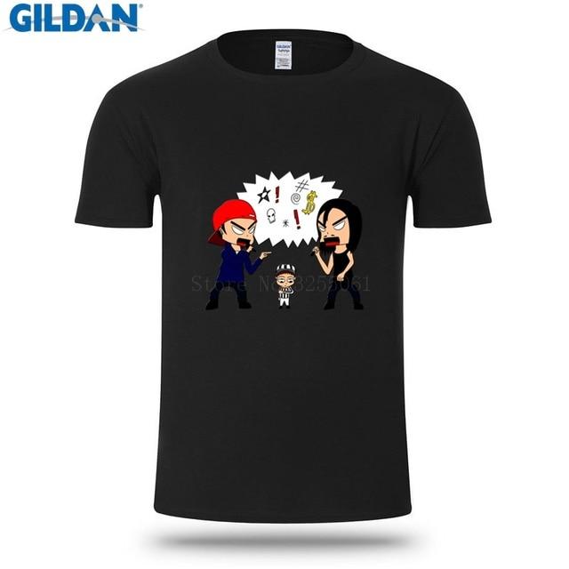 718d6a8f0 Design Short Sleeve Tshirt Limp Bizkit Vs Korn Summer T Shirt For Men  Fashions Casual T