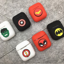 Cartoon Soft Silicone Earphone Case For Apple Airpods Shockproof Cover For Apple AirPods Ultra Thin Air Pods Protector Case 3d lucky rat cartoon bluetooth earphone case for airpods pro cute accessories protective cover for apple air pods 3 silicone