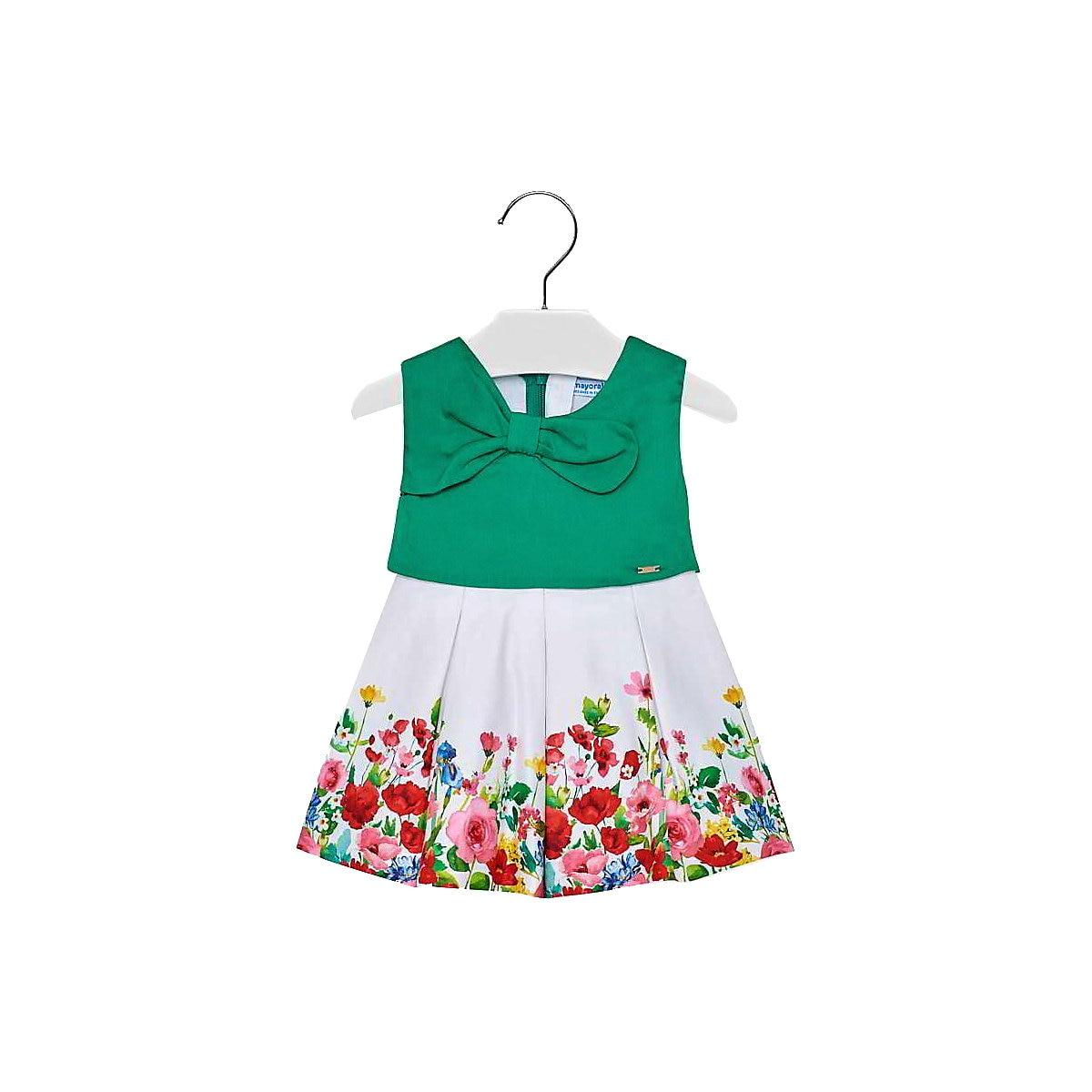 MAYORAL Dresses 10685252 dress for girls baby clothing fashion slim family long sleeve mesh dress for girls