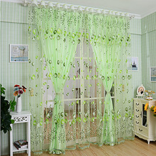 100*200cmTulip finished window screening Window curtainKids BoysGirls Bedding room Living roomElegent  Drapes Cortinas para sala