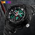 Relogio masculino 2016 016 Skmei Esporte Relógios homens de Aço Completo marca de luxo sports dive 50 m LED Militar relógios homens de quartzo relógio