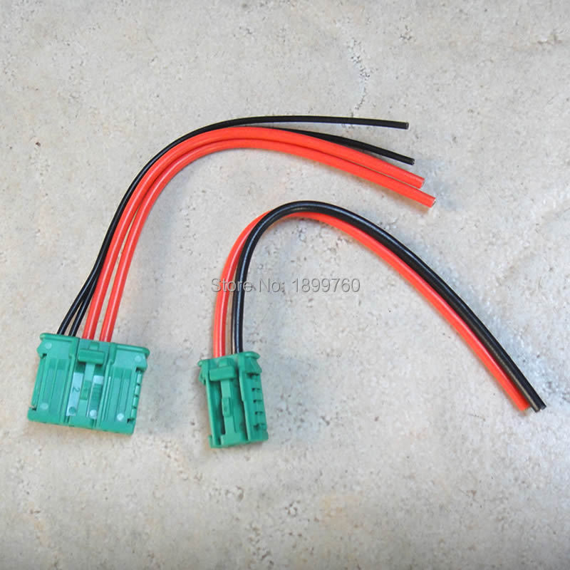 2x Heater Resistor Wiring Harness 27761 Ax010 6441 L2 7701048390 For Nissan Renault Clio Scenic