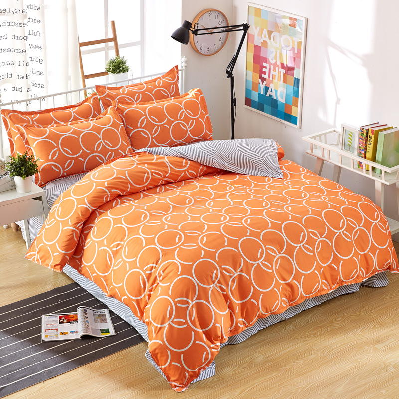 Queen Bedding Set Euro Bed Linens for Children Adult Duvet Cover 2 Persons Bed Sheets Pillow Cover Single Twin Full King Size