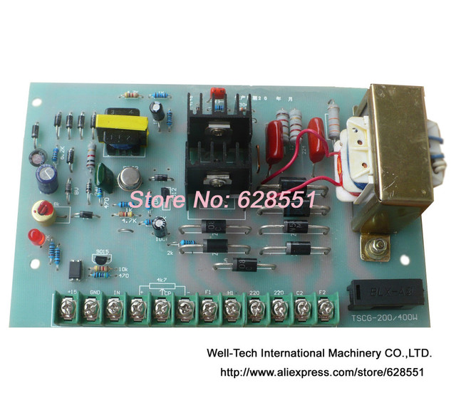 US $18 8 |TSCG 200/400W DC Motor Speed Controller Circuit Board Used on Bag  Making Machine DC motor speed controller and panel on Aliexpress com |