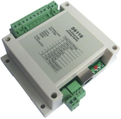 12 bit 16 analog input network module, Ethernet data acquisition module