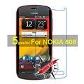 5 ШТ. Матовая Глянцевая Nano anti-Взрыв-Экран Протектор Для Nokia 808 Высокий Ясный Защитные Пленки С Тканью