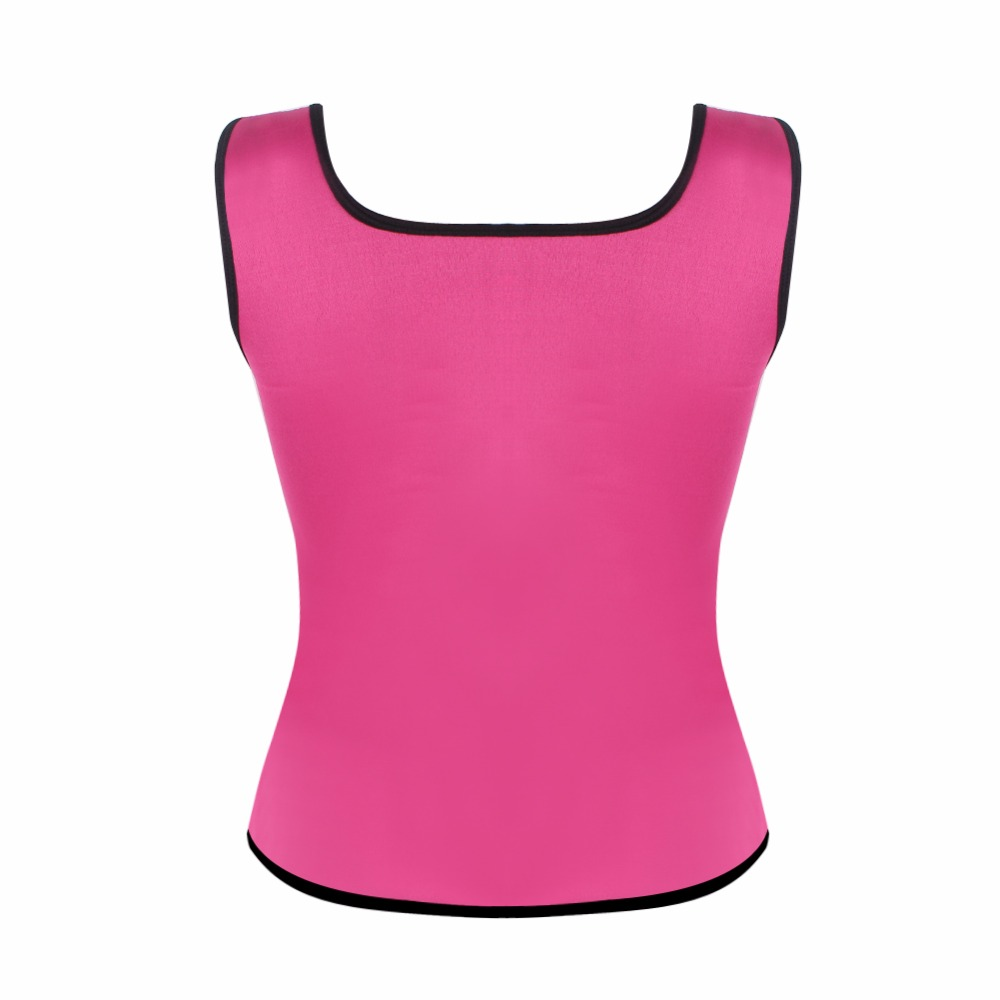 HEXIN Plus Size Neoprene Sweat Sauna Hot Body Shapers Vest ...