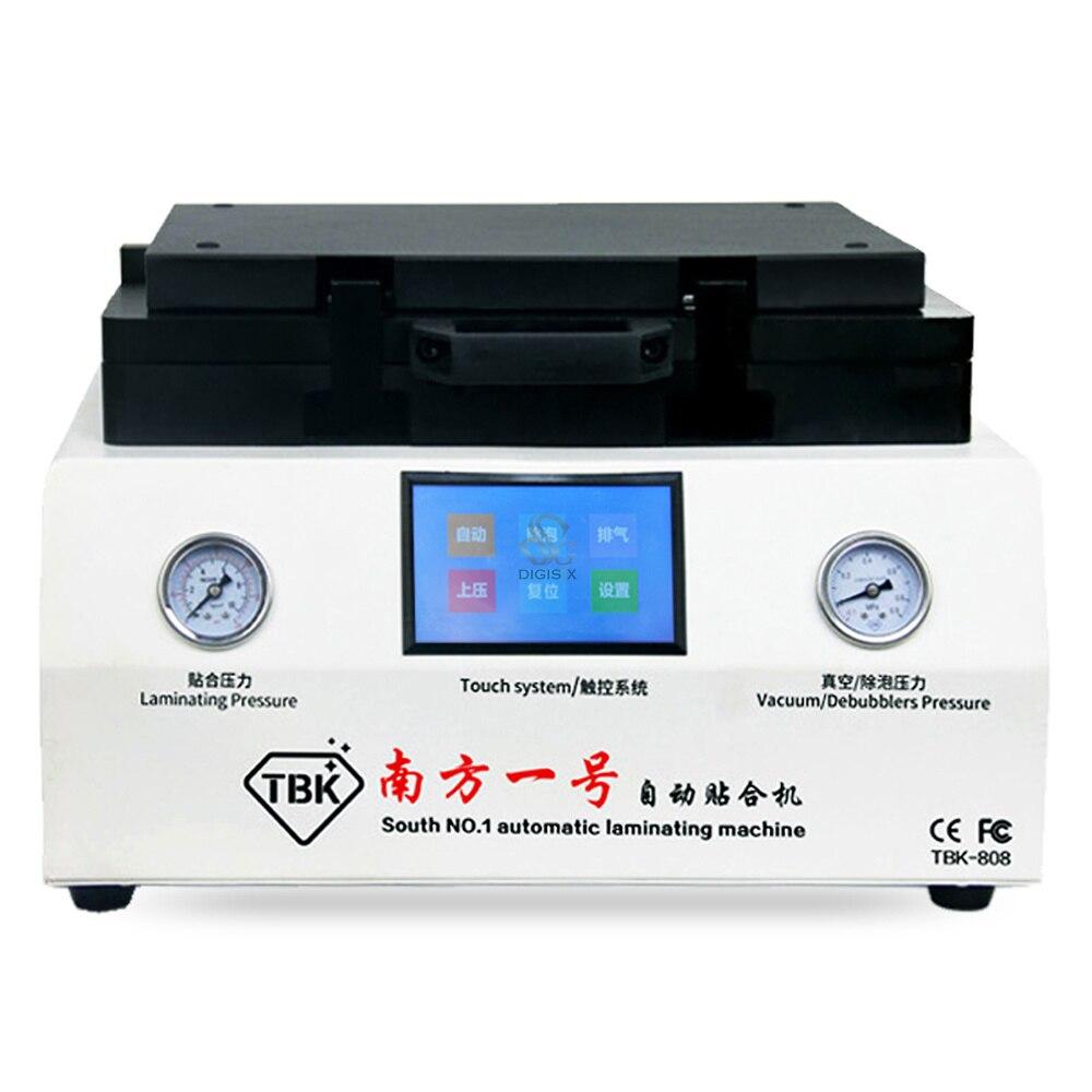 TBK 808 Ремонт LCD Сенсорный Экран Автоматическая Пузыря Удаление Машина ОСА Вакуумный Ламинатор