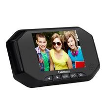 3.5 pulgadas LCD a Color de Pantalla Timbre Espectador de la Puerta Digital Mirilla Visor de Cámara Puerta del Ojo de grabar Vídeo de 140 Grados de visión Nocturna