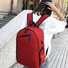 Litthing USB Charging Backpack Women Business Men Travel Backpacks Multifunction Cloth Pack Book Bag Anti Thief Shoulder Bags