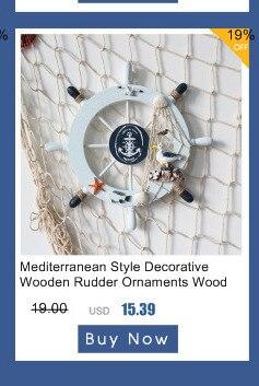 Mediterrâneo decoração da parede marinha barco de