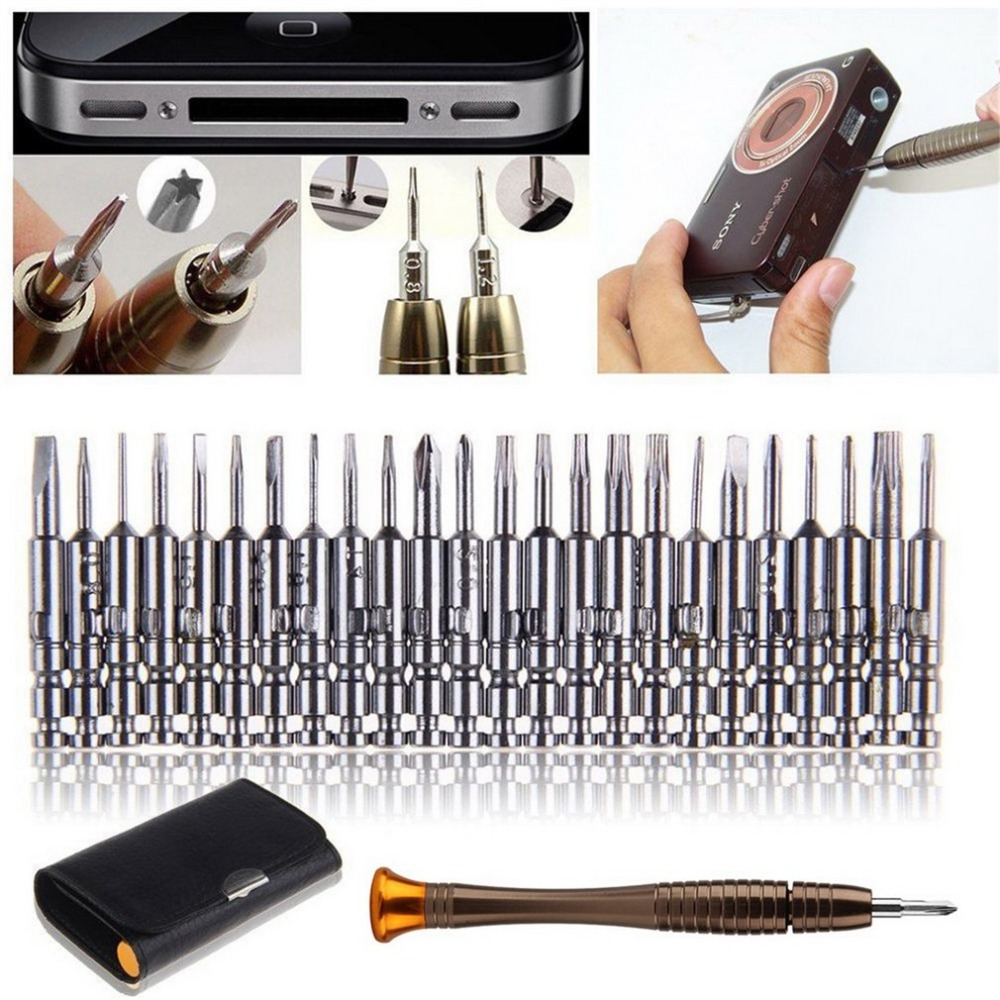 1 Schraubendreher-satz 25 In 1 Universal Torx-schraubendreher Repair Tool Set Für Iphone Handy Tablet Pc Reparatur Tragbare Werkzeug Kit Zu Hohes Ansehen Zu Hause Und Im Ausland GenießEn