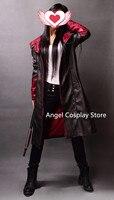 Рождество Hallowmas DmC Devil May Cry 5 Данте партия моды форма костюм Косплэй костюм только один слой XS 3XL Бесплатная доставка